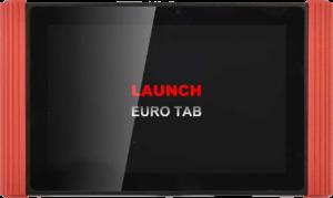 Launch X-431 EURO TAB Диагностичен уред за тежкотоварни